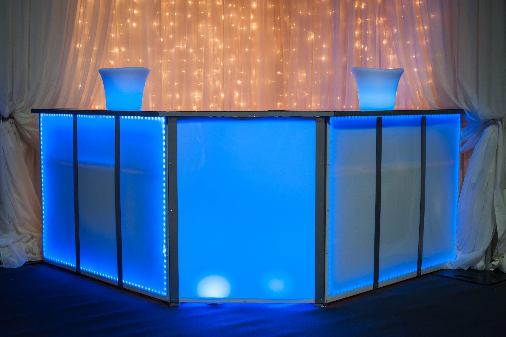 Illuminated Furniture Northdown Marquees
